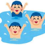 夏休みの初日は、室内プールにいってきました☆