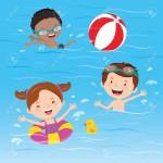 プール活動開始!