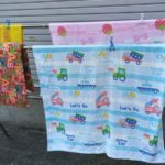 洗濯と日光消毒―タオル・マット・布団