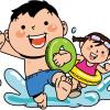 室内でのプール